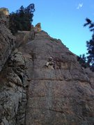 Rock Climbing Photo: In the S. Saint Vrain