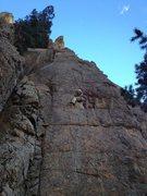 Rock Climbing Photo: In the S. Saint Vrain