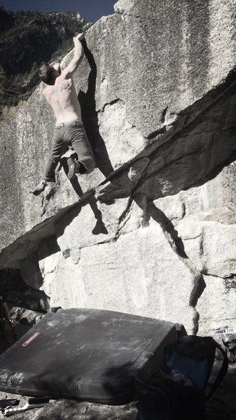 Rock Climbing Photo: Blunder