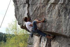Rock Climbing Photo: Close?
