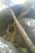 Rock Climbing Photo: That's a Moray!
