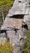 Rock Climbing Photo: Josh of the HWDAMF getting experimental trying a d...