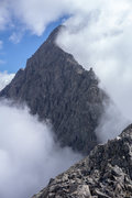 Rock Climbing Photo: The upper portion of the West Ridge of Yukla