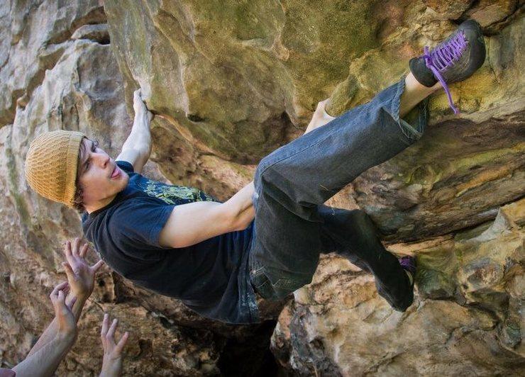 Rock Climbing Photo: Fireplace Rock 2011