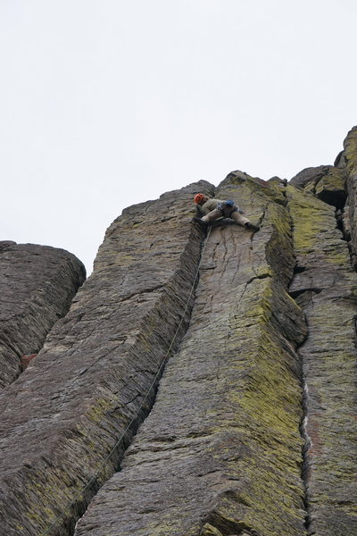 OS, Topping out on Inca Road,