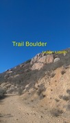 Rock Climbing Photo: Trail Boulder and Leapin' Lizards