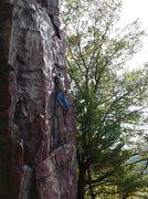 Rock Climbing Photo: Bonamici, flashing callipigeanous direct.
