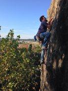 Rock Climbing Photo: Kevin Wagoner sending