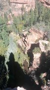 Rock Climbing Photo: Summit Shadow.