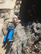 Rock Climbing Photo: Starting up King Me.