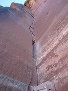 Rock Climbing Photo: Good Excuse - Reservoir Wall - Indian Creek