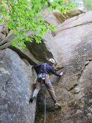 Rock Climbing Photo: Start of Lady Luck