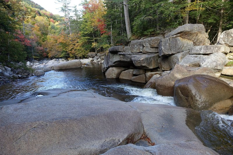 Rock Climbing Photo: Swimming Hole down Sawyer River Rd