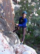 Rock Climbing Photo: Dark Shadow wall. Fun times during Red Rock Rendez...