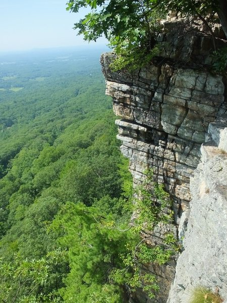 Rock Climbing Photo: The corner of P2