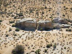 Manx Boulder from Cyclops Rock
