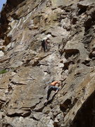 Rock Climbing Photo: Alex Spencer and James Brakken on pitch 1 of El Su...