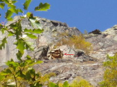 Rock Climbing Photo: This is directly above
