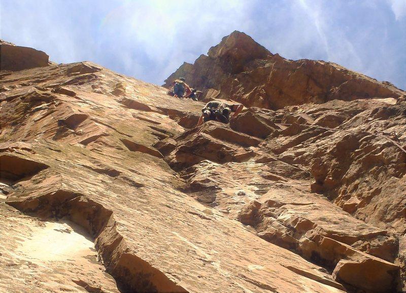 Rock Climbing Photo: Busy day for El Sueno! Andrew Temple, James Brakke...