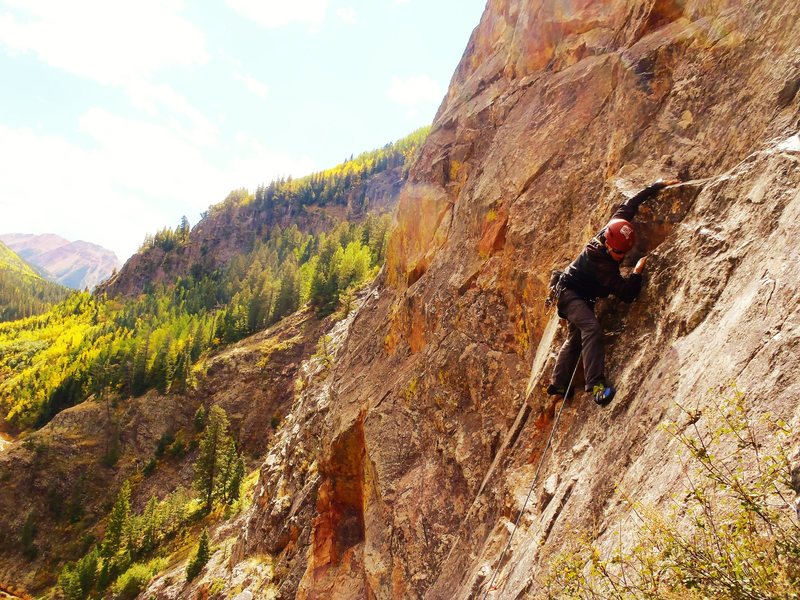 Rock Climbing Photo: SVS on H.B.