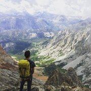 Rock Climbing Photo: Halfway up Mt. Emerson