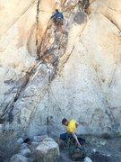 Rock Climbing Photo: Climbing something in J-Tree