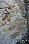 Rock Climbing Photo: Bolts for Bob in the South Seas back in South Dako...