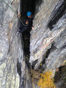 Rock Climbing Photo: such a cool chimney!