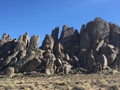 Rock Climbing Photo: Route Location