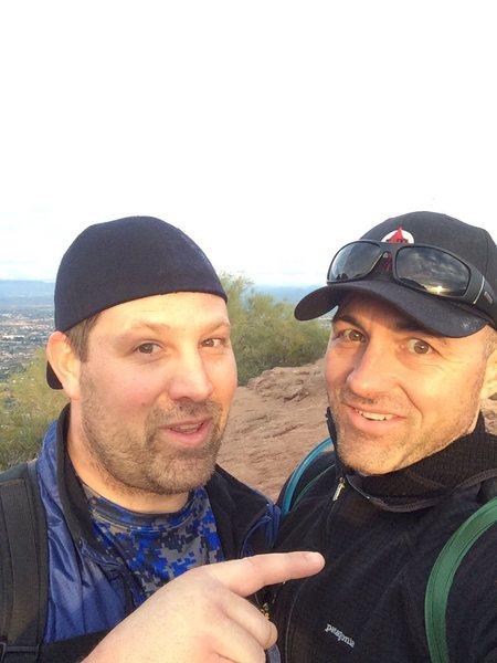 Rock Climbing Photo: Big Brother and I
