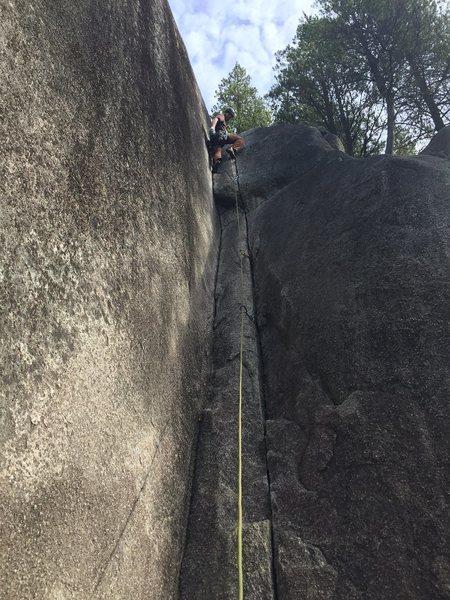 Rock Climbing Photo: Pixie Corner, Smoke Bluffs