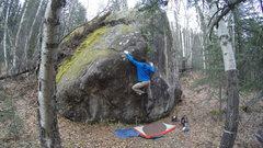 Rock Climbing Photo: Welcome Boulder, Mr. Furious.