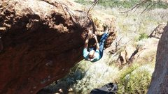 Rock Climbing Photo: Topping out Munge Lunge