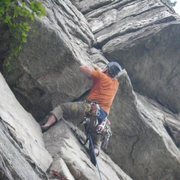 Rock Climbing Photo: Shockley's Ceiling