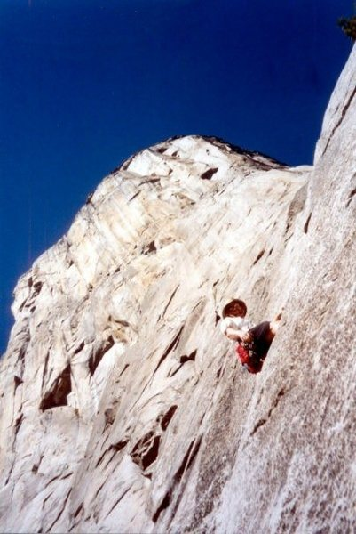 Rock Climbing Photo: Pine Line back in 2002