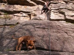 Rock Climbing Photo: No Picnic