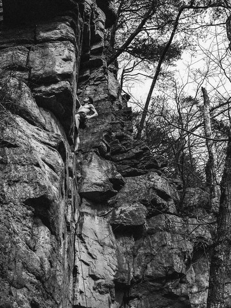 Rock Climbing Photo: Franklin Gorge