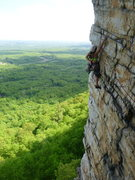 Rock Climbing Photo: Classic traverse P2 Bonnies