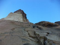 """Rock Climbing Photo: This is the first pitch on the """"West Face Var..."""