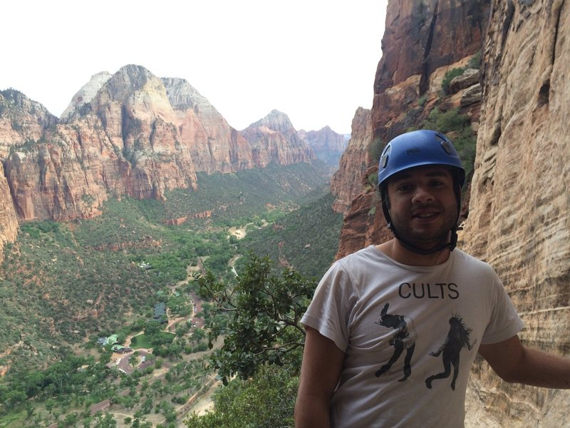 Rock Climbing Photo: Zion NP