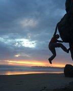 Rock Climbing Photo: Stinson Beach