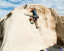 Rock Climbing Photo: No hands