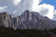 Onion Valley crags