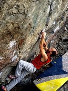Rock Climbing Photo: Are You Experienced Traverse- V10