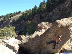 Rock Climbing Photo: Me on Hellhooks