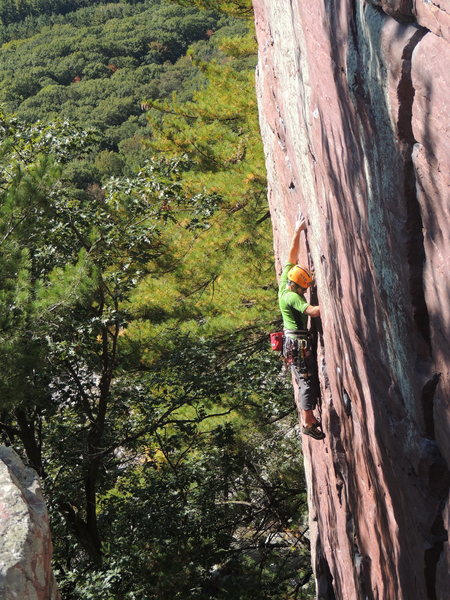 Rock Climbing Photo: Upper D