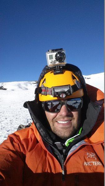 Summit Selfie on Rainier