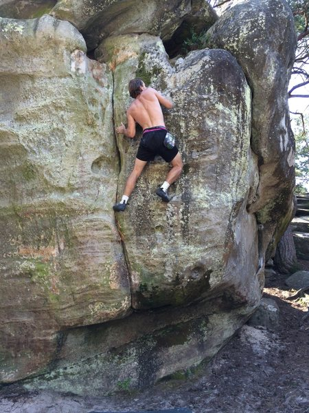 Rock Climbing Photo: fontainebleau