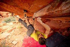 Rock Climbing Photo: Dirty Rail V7 Seen here: Zack Barbee Photo Credit:...