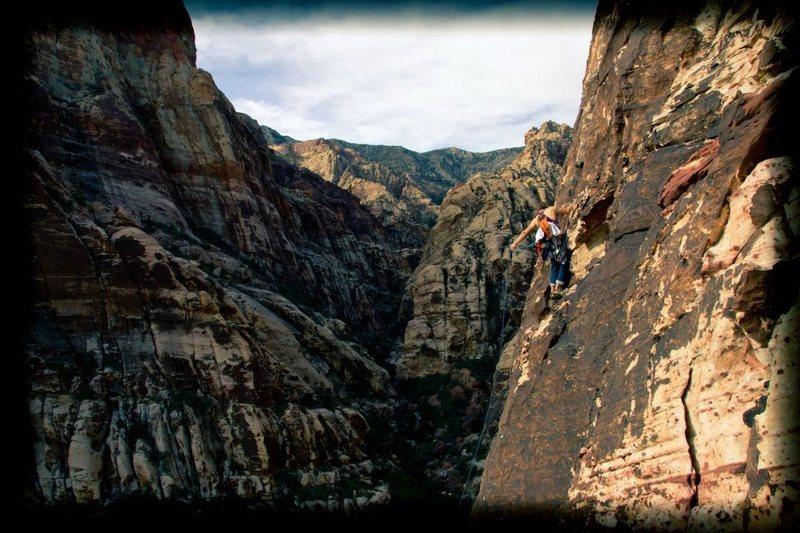 Rock Climbing Photo: Seen here: Chris Forte Photo Credit: Zack Barbee